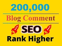 200000 Blog Comment GSA SEO backlinks For Ranking keywords - website seo Google