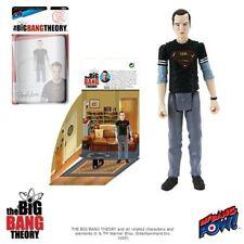 Big Bang Theory Sheldon (in Black Superman shirt) 3 3/4 figure Bif Bang Pow UK