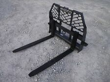 Bradco 48 4000 Pound Pallet Forks Signature Series Fits Skid Steer Attachment