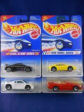 Hot Wheels 1995 - 2 Zender Fact 4's, Ferrari, Mercedes Lot – Group of 4 - Mattel