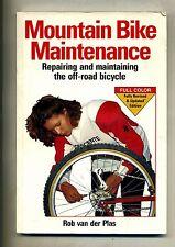 Rob Van Der Plas # MOUNTAIN BIKE MAINTENANCE # Bicycle Books 1995