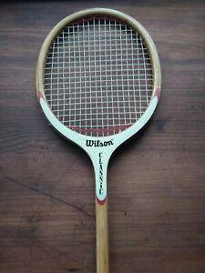 Vintage Wilson Classic Wooden Squash Racket