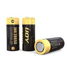 2 X ijoy 26650 4200mAh Alto Consumo IMR Li-Mn 3.7v Batería Recargable