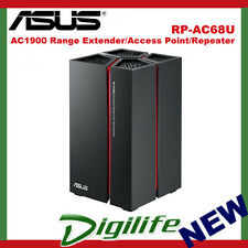 ASUS RP-AC68U Wireless AC1900 Dual-Band Repeater/Range Extender/Access Point