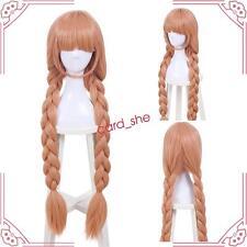 Magical Girl Raising Project Tsubame Murota Top Speed Orange Long Cosplay Wig