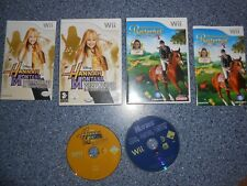 Wii,nintendo spiele,Hannah Montana,Reiterhof,Die Pferdeflüsterin,Disney,Sammlung