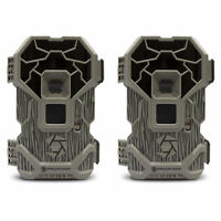 Stealth Cam PXP24NG 16MP Camouflage Scouting Hunting Game Trail Camera (2 Pack)
