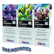 Red Sea Reef Foundation ABC 3x500ml Calcium Alkalinity Magnesium Supplements