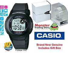 CASIO WATCH F200 F200W F-200W-1AD F91 F-91 ALARM 12-MONTH WARRANTY