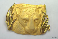 Vintage Jewels by Park Lane Jungle Cat Jaguar Brooch Pendant