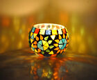 """Indian Moroccan Mosaic Candle Holder Lamp Party Tea Light Decoration 3"""""""