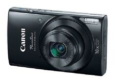 Canon Slim PowerShot ELPH 190 IS 20MP, 10x Optical Zoom & Built-In Wi-Fi, Black