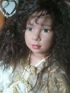 Große Sigikid PUPPE Prinzessin Künstlerpuppe 66 cm iwi