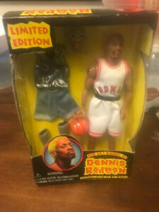 Dennis Rodman Bad As I Wanna Be Doll Action Figure NEW NBA Vintage 90s Toy