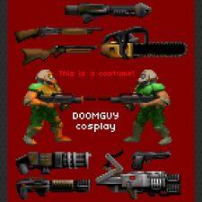 DOOMGUY DOOM Cosplay Costume Doomslayer Eternal Halloween 2 3 64 Marine