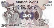 Uganda 1973 20 Shillings P7c UNC