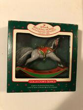 Hallmark Keepsake 1988 ROCKING HORSE Christmas Ornament