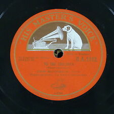 78rpm JOHN McCORMACK to the children / none but a weary heart