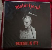 MOTORHEAD WHAT'S WORDS WORTH? VG+ Mint UNPLAYED LP vinyl LEMMY recorded live 78