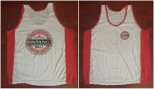 Vintage Men Bintang Beer Tank Top Size XXL Sleeveless Shirt Bali Bir Pilsner Red
