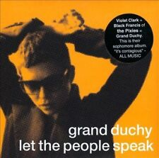 GRAND DUCHY-LET THE PEOPLE SPEAK  CD NEW