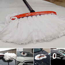 hot !Car Wash Cleaning Brush Duster Dust Wax Mop Microfiber Telescoping Dusting
