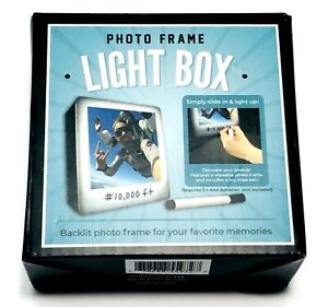 "Photo Frame Lightbox Backlit For Your Favorite Memories 3.5"" X 4"""