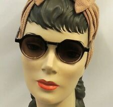 Brown  Sunglasses  1930s 1940s Vintage style  UV400