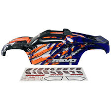 Traxxas E-Revo 2.0 Painted Body Shell Fully Assembled with Mounts - Purple 8611