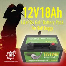 12v 18ah Lithium Battery 4 Golf Buggy Trolley MGI Motocaddy Hillbilly Powacaddy
