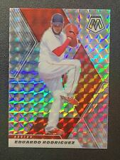 2021 Panini Mosaic Prizm #186 Eduardo Rodriguez - Boston Red Sox