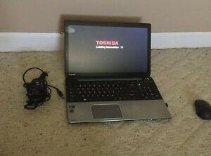 Toshiba Satellite PC, touchscreen, includes wireless mouse