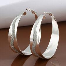 Womens Silver Jewelry Earrings Hooped Dangle 925 Sterling Silver Dangle Earrings