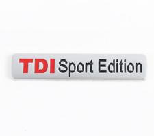 2pcs -  TDI Sport Edition Badge Emblem Decal Sticker Rear Tailgate Trunk  New