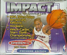 new sealed unopened box 1999 2000 SkyBox IMPACT HOBBY BASKETBALL BOX 36 packs