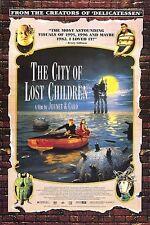 CITY OF LOST CHILDREN MOVIE POSTER ~ COLLAGE 27x40 Marc Caro Jean-Pierre Jeunet