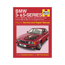 BMW 3/5 Series 1.6 1.8 2.0 2.5 2.8 3.0 Petrol 81-91 (up to J Reg) Haynes Manual