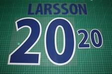 Sweden 00/02 #20 LARSSON Homekit Nameset Printing