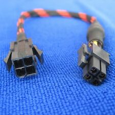 10x 4pin male female mainboard CPU Auxiliary power supply Extension Cable 18AWG