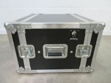 "Rhino 19"" 6U Rack Twin Door Flight Case DJ Music Equipment Box Storage Concert"