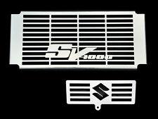 SV1000 SUZUKI SV 1000 S/N 2003-08 INOX RADIATORE COVER W/ Radiatore olio GRIGLIA