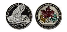 Canada Wolves Collectible Coin