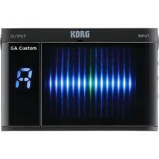 New Korg Custom Shop Gacs Ga Custom Handheld Chromatic Guitar & Bass Tuner-Black