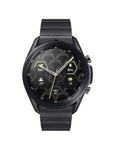 Samsung Electronics Galaxy Watch 3 Titanium (45mm, GPS, Bluetooth) Smart Watch w