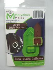 Marvelous Molds Fashion Accessories -Large Bridle Buckle- cake supplies fondant
