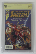 CBCS Graded 9.4 NM, The Power of Shazam!  #1 (1995) Signed by 2 From TV Series