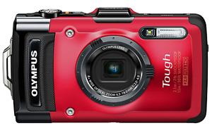 [NEAR MINT] Olympus Tough TG-2 iHS 12.0MP Digital Camera - Red (N136)