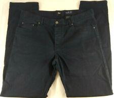 Pantalon Bleu fonce H&M Slim Fit Hommes Taille 34   Envoi rapide et suivi