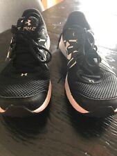 Under Armour Dash 2 Black And White Ladies Sz 8 Shoes