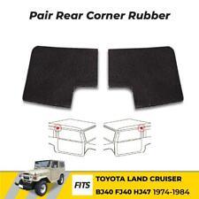 Rear Door Edge Top Corner Rubber Seal Fits 1974-84 Toyota Land Cruiser BJ40 FJ40